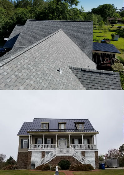Admetal Roofing Co 252 269 7556 Residential Roofing
